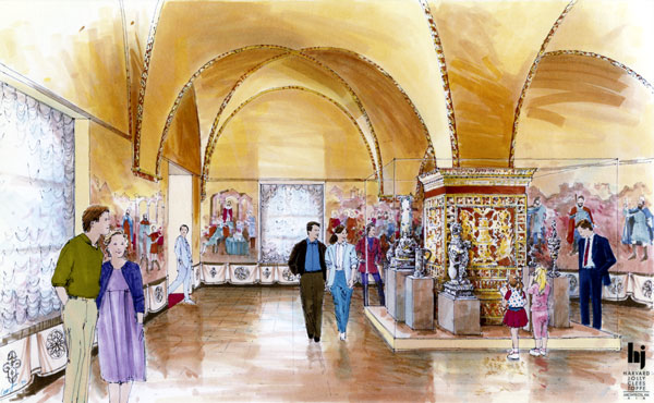 Rendering - Florida International Museum, Treasures of the Czars Exhibit